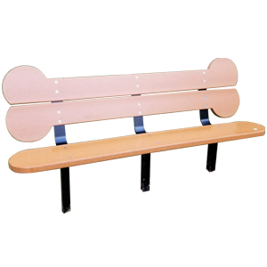 CC5707 (DOI) - Biscuit Bone Bench
