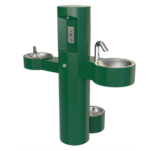 7228 (DOI) - Hand Wash Station with Bottle Filler, Drinking Fountain and Pet Fountain