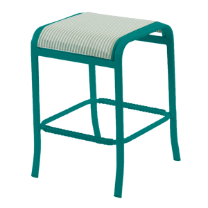 W1577 - Ocean Breeze Sling Backless Bar Stool
