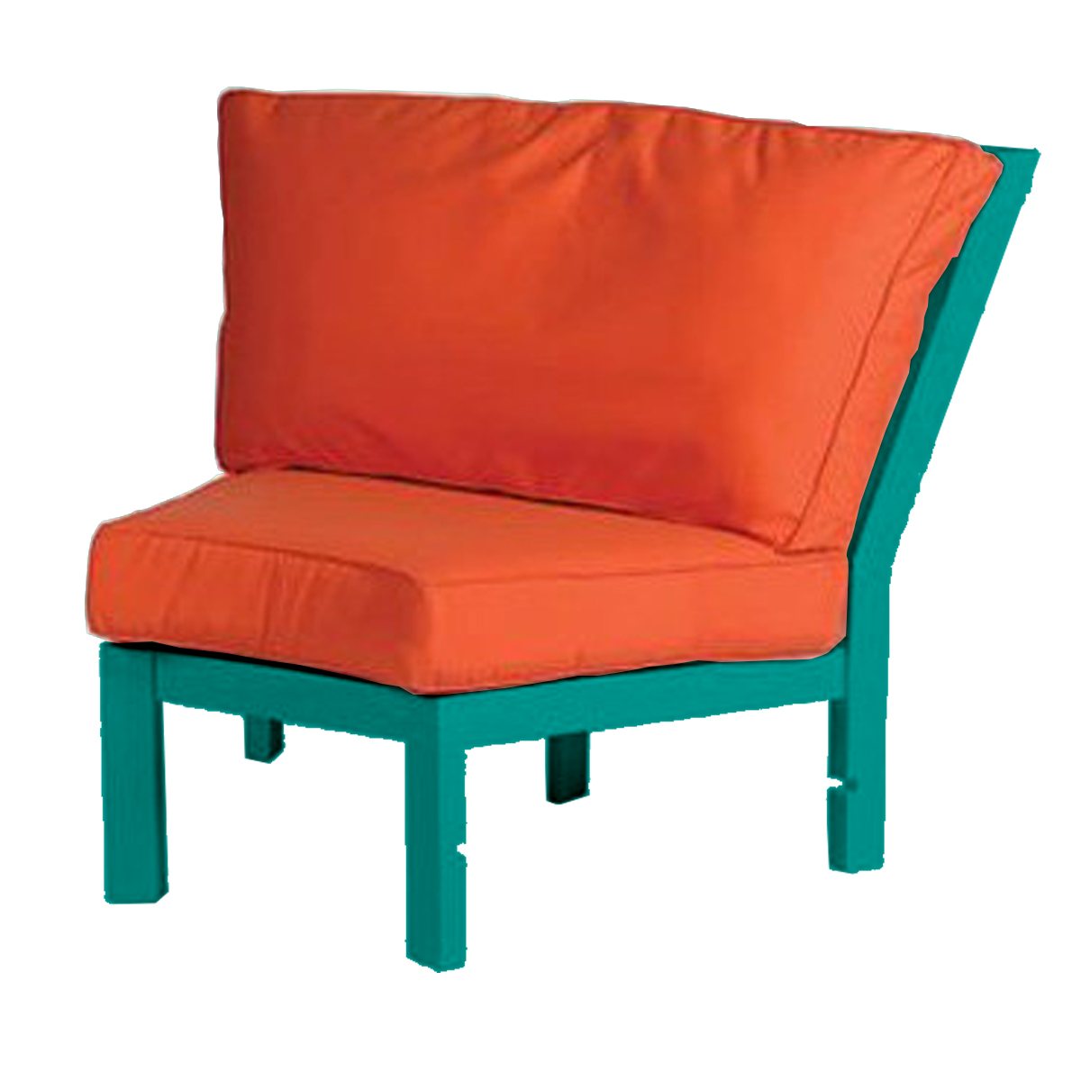 Sanibel Modular Deep Seating 45 Degree Corner Lounge Chair