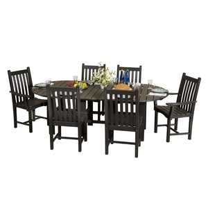 "LCC-292 - 44"" x 84"" Table with 6 Side Chairs"
