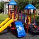 PLAYGROUND LOOSE RUBBER MULCH - Playground Loose Rubber Mulch Surfacing
