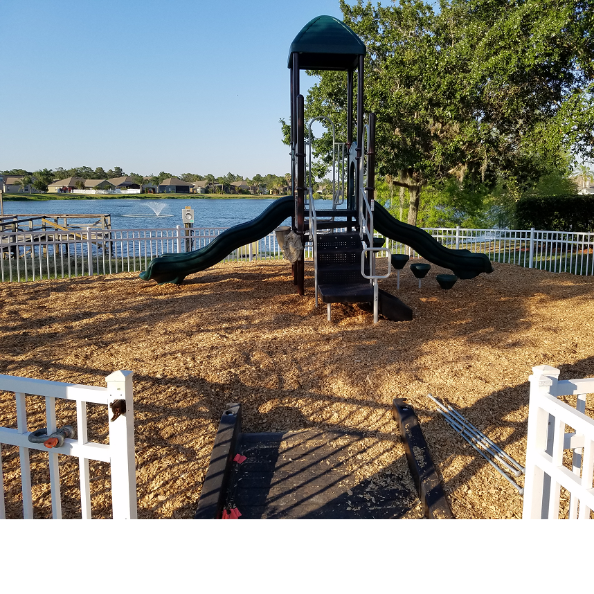 Bristol Bay Apartments: Indian Lakes HOA Cassie Playground Install