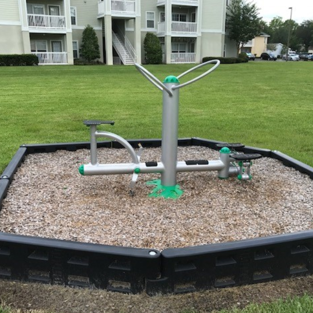 Lake Gray Apartments And Playground And Fitness Equipment