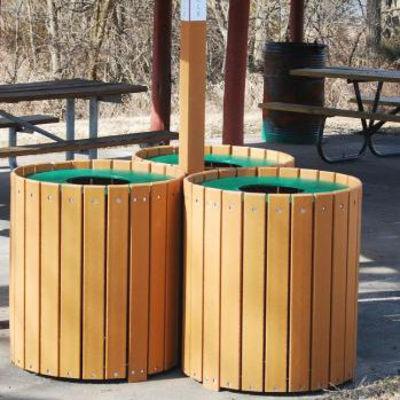 commercial trash receptacles outdoor trash receptacles etu0026t