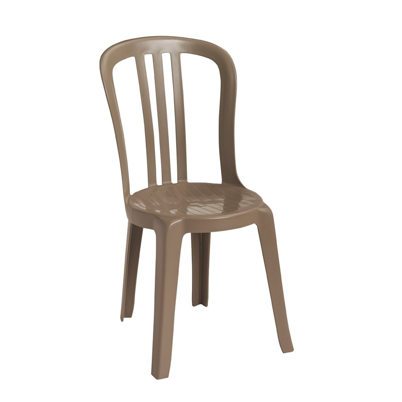 Grosfillex Miami Bistro Stacking Resin Patio Dining Chair