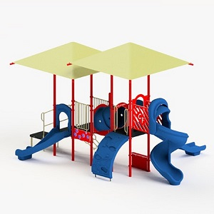 STR353213R - 0 Erin Playground with Integrated Shade