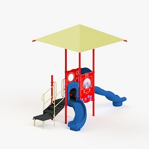 STR352279R - 0 Maryann Playground with Integrated Shade