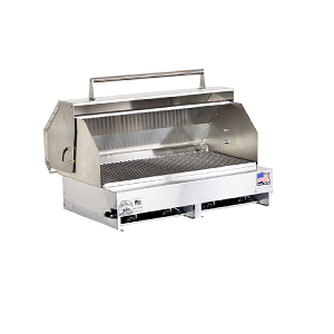"300613-LPSSPKG - 33"" Stainless Steel Grill with Hood"