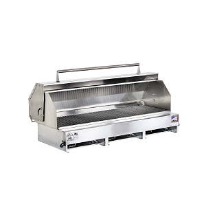 "300612-LPSSPKG - 49"" Stainless Steel Grill with Hood"