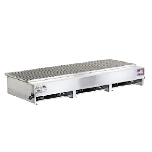 "300612-LPSS - 49"" Stainless Steel Grill"