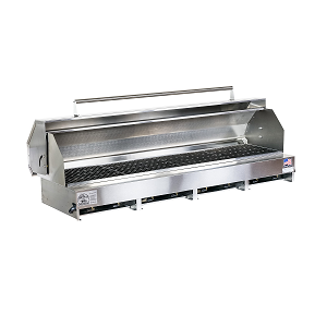"300610-LPSSPKG - 65"" Stainless Steel Grill with Hood"