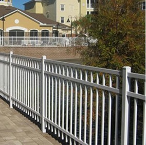 MS-ALUMINUM - Powder Coated Aluminum Fencing