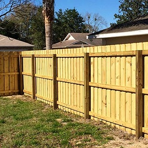 MS-WOOD - All Weather Water-Treated Wood Fencing