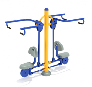 PFT007 - Double Station Lat Pulldown
