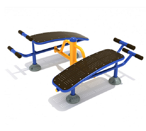 PFT003 - Double Station Sit Up Bench