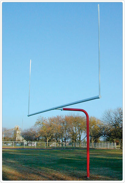 561-445 - SportsPlay Single Post Pitch Fork Football Goal
