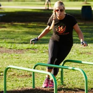 Action Fit Hurdle Fitness Station