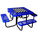 358-V-GT-US - Square Outdoors Picnic Table