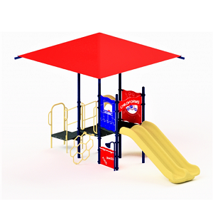 STR-352293-B-ALT-ST - 0 Tara Playground with Integrated Shade