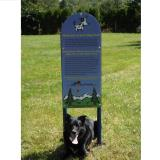 7230 - Dog On It- Dog Park Rules Sign
