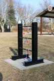 LTS4232 - Doty All Steel Permanent Ladder Toss Game