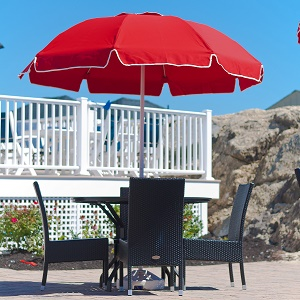Catalina Series Fiberglass Patio Umbrella