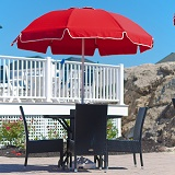 844FWA-PBA01 - Catalina Series Fiberglass Patio Umbrella