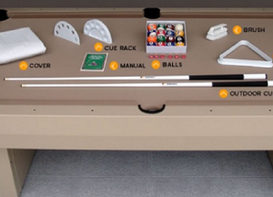 STARTUPACCESSORIES - Gameroom Startup Pool Table Accessories