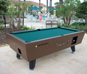COINOPTABLE - Gameroom Coin-Operated Pool Table