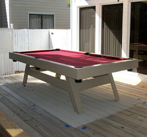 E-SERIES - Gameroom E-Series Contemporary Pool Table