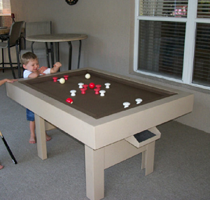 BUMPER-POOL - Gameroom Outdoor Bumper Pool Table