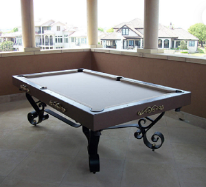 CORDOBASERIES - Gameroom Cordoba - Traditional Pool Tables