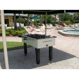 FOOSBALL - Gameroom Concepts Outdoor Foosball TableTable