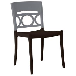 Grosfillex Moon Stacking Side Chair