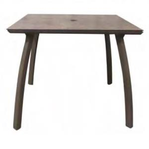 "Grosfillex Sunset ADA 36"" Square Table"