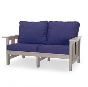 DSLVST-K - Durawood Deep Seating Love Seat