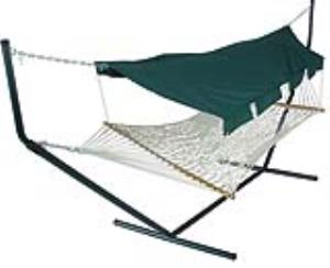Hammock Canopy With Forest Green Pole