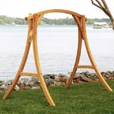 S-2ST-HS - Roman Arc Cypress Swing Stand