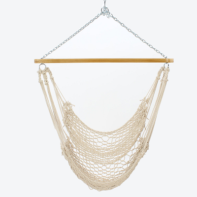 S105-HS - Single Cotton Rope Swing