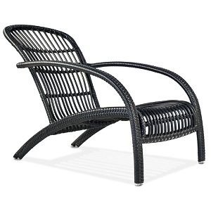 ADI101 - Adirondack Wicker Lounge Chair