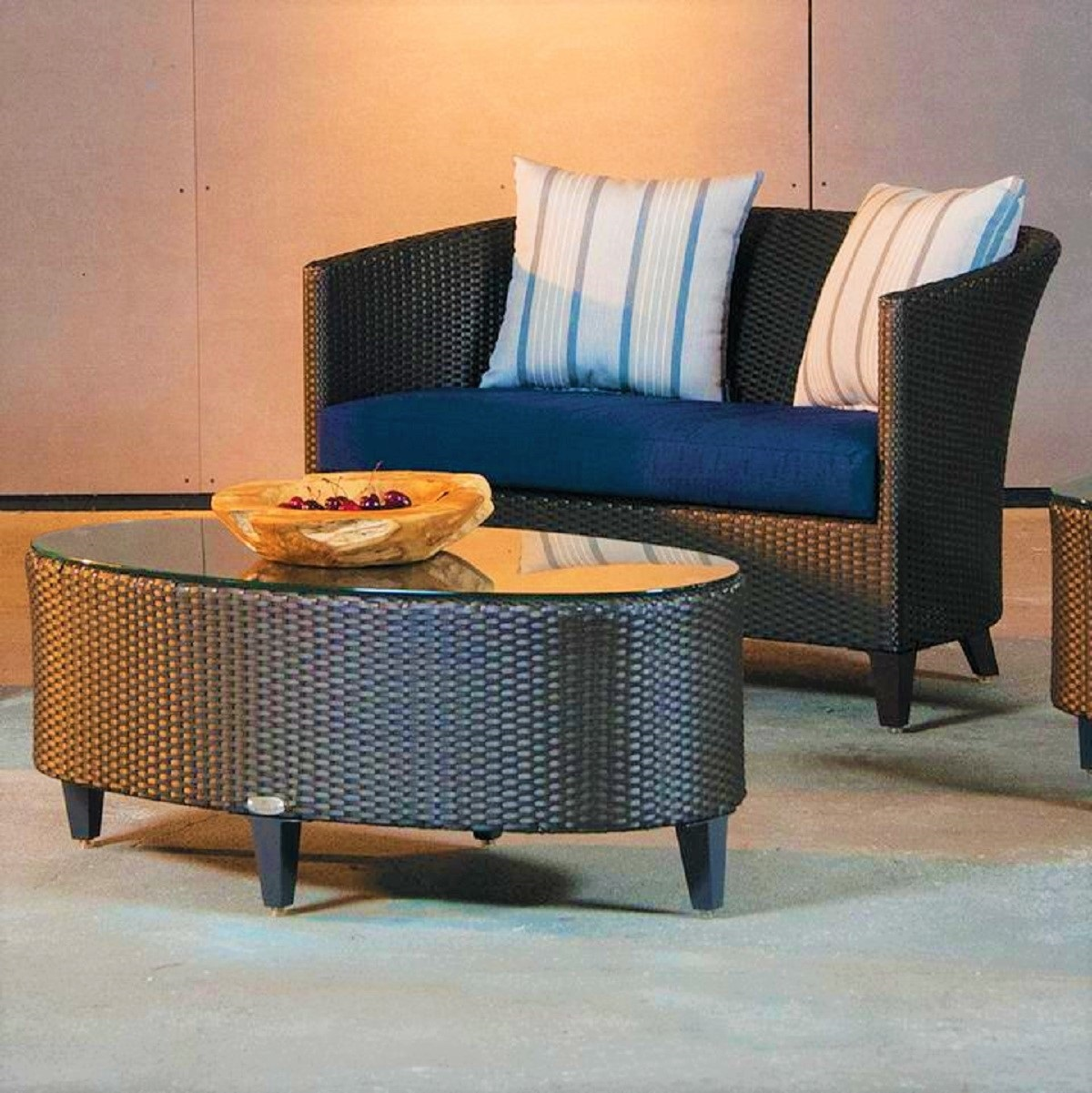 Corona Wicker Deep Seating Collection
