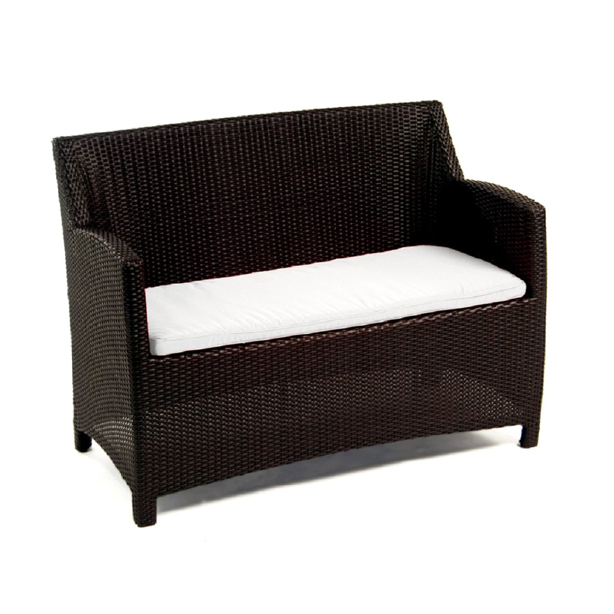 Dana Wicker Loveseat