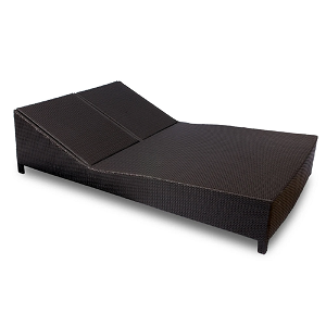 DAY202 - Daytona Wicker Double Chaise Lounge
