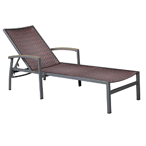 DOM212 - Dominica Wicker Chaise Lounge