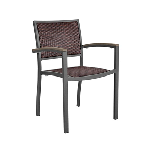 DOM302 - Dominica Wicker Dining Armchair