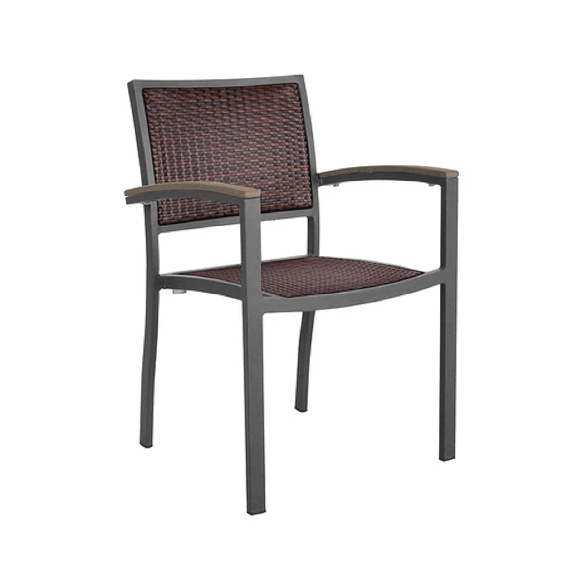 Dominica Wicker Dining Armchair