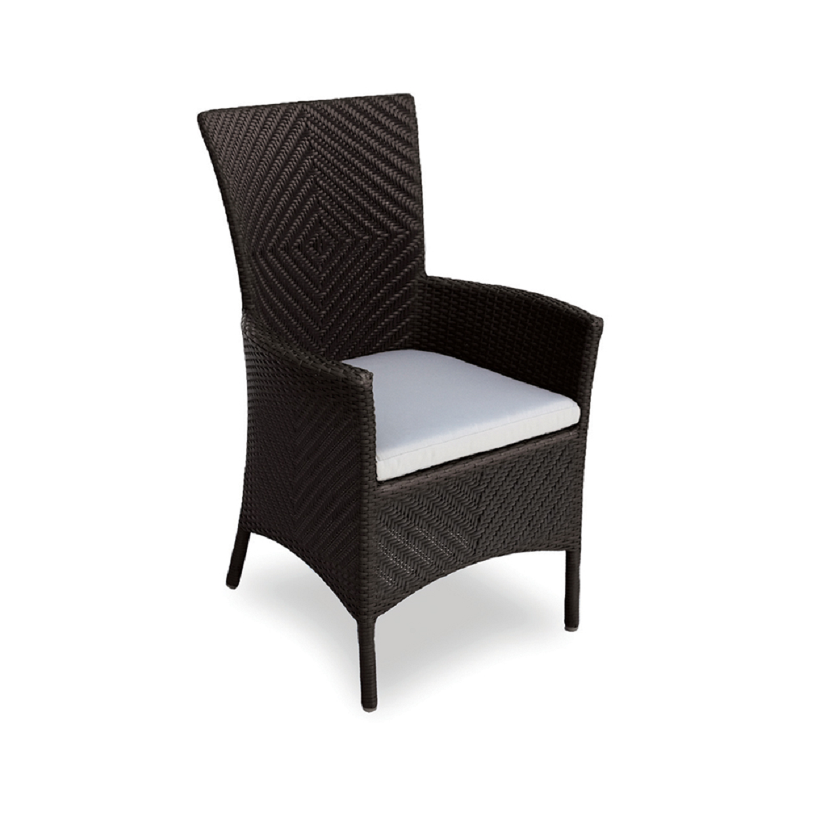 Marbella Wicker Dining Armchair