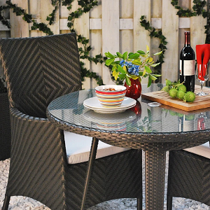 MARCOMBO - Marbella Wicker Outdoor Seating Collection
