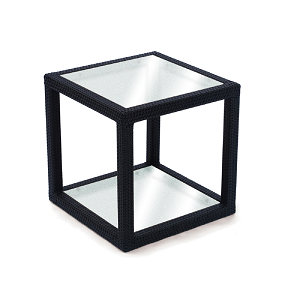MGT502 - Margarita Side Table with Frosted Glass Top